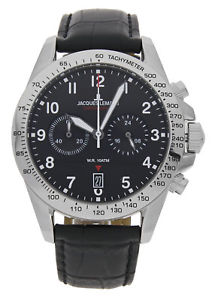 【送料無料】jacques lemans pilot chronograph 111865b
