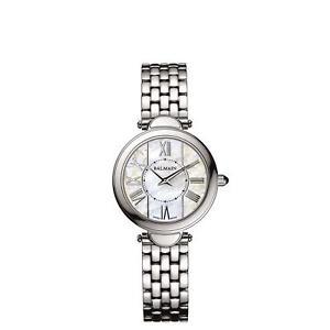 【送料無料】balmain womens haute elegance ultra flat steel case quartz watch b80713383