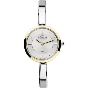 【送料無料】michel herbelin womens scandinave 265mm swiss quartz analog watch 17401bt11