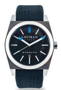 【送料無料】orologio watch locman stealth ref 020100cbfsk1gos