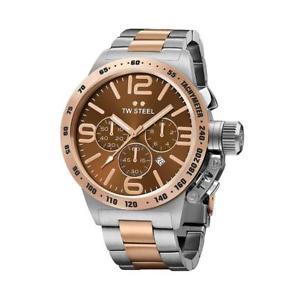 【送料無料】tw steel cb153 canteen mens chronograph watch