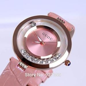 high quality womens luxury genuine croc print leather elegance watches