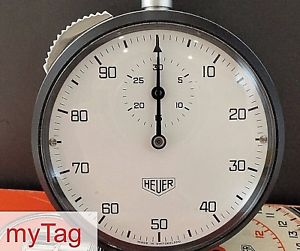 【送料無料】heuer 80s stopwatch ref 401213
