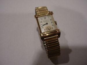 【送料無料】bulova excellency watch vintage 1949 10k gold filled item 95