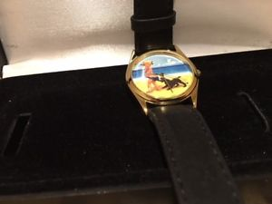 vintage coppertone watch brand  in box never worn makes a wonderful gift