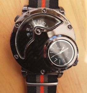 【送料無料】oulm watch , jump hour dual zone time , original design