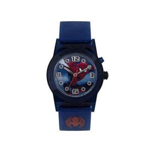 【送料無料】icial licensed marvel spiderman character flashing analogue watch