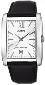 【送料無料】lnp rg823bx9 lorus gents stainless steel leather strap watch