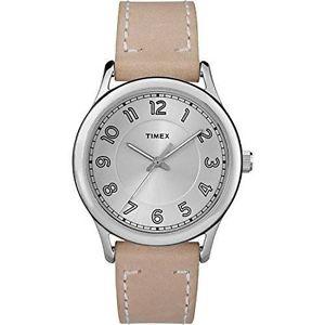 【送料無料】timex tw2r23200, womens tan leather strap watch, england, tw2r232009j