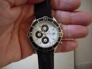 【送料無料】bulova chronograph quartz calmiyota funzionante