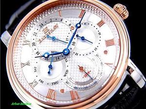 thomas earnshaw mens longcase collection calendar quartz luxury watch