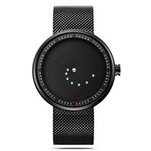 【送料無料】sinobi 9768 ultrathin spacetime creative watches fashionable stainless steel st
