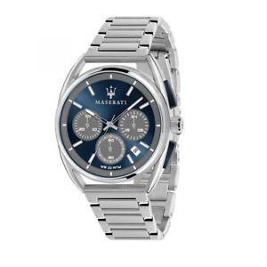 【送料無料】orologio cronografo uomo maserati trimarano r8873632004 acciaio