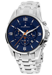 【送料無料】jacques lemans herrenchronograph liverpool chrono 11799h