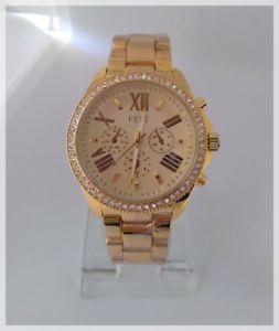 【送料無料】sublime montre watches quartz femme bracelet dor acier inoxydable strass
