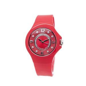 【送料無料】morellato colours,orologio da polso donna,36 mm,rosso con cristalli,r0151114542