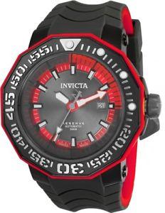 【送料無料】 mens invicta 23031 reserve 52mm sea monster swiss automatic silicone watch