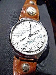 【送料無料】orologio russo per uomo raketa calendario perpetuo vintage made in ussr
