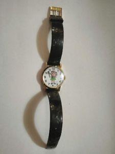 【送料無料】vntg 1982 campbells wristwatch needs battery swiss made