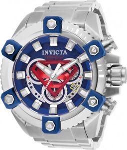 【送料無料】invicta mens dc comics swiss chrono 200m stainless steel watch 26909