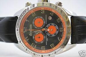 【送料無料】omikron mens swiss falcon sport chronograph