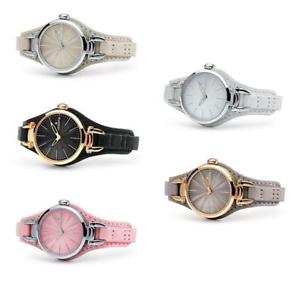 【送料無料】orologio donna hoops jolie pelle ros colorato bianco nero rosa collection