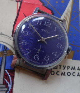 【送料無料】pobieda montre mecanique ancienne made in cccp 1980