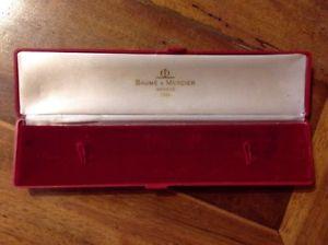 【送料無料】cofanetto originale orologio vintage baume e mercier