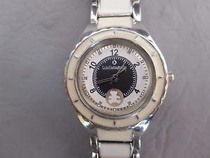 【送料無料】lulu castagnette montre bracelet metal bleu mail blanc femme fille woman watch