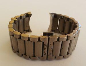 【送料無料】porsche design titanium bracelet bracciale ref 6613 22 mm