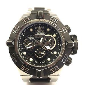 【送料無料】invicta 6537 subaqua noma iv watch chronograph flame fusion crystal perforated