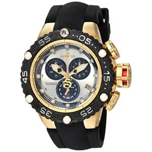【送料無料】invicta subaqua 24445 silicone chronograph watch