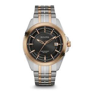 【送料無料】bulova 98b268 mens precisionist wristwatch