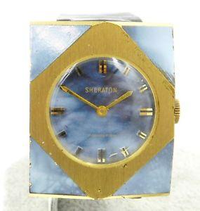 【送料無料】vintage unique large format sheraton manual wind watch