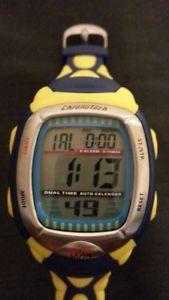 【送料無料】mens chronotech renault f1 team wrist watch blueyellow excellent wbattery