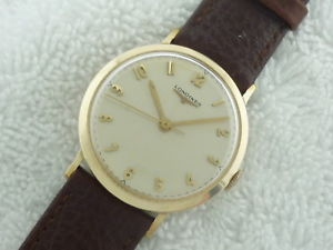 【送料無料】neues angebotvintage longines manual 10k gold filled swiss made 1960s fully serviced