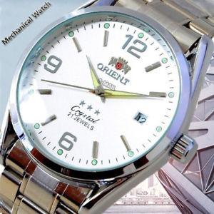 【送料無料】orologio da uomo quadrante bianco nero oro acciaio inox data quarzo analogico