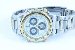 【送料無料】lorenz herren uhr chronograph chrono stahlgold 39mm quartz