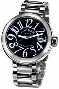 【送料無料】locman tuttotondo orologio uomo in acciaio nuovo 2 anni garanzia made in italy