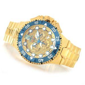 【送料無料】 mens invicta 17845 jason taylor excursion swiss chronograph watch