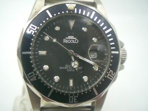 vintage watch regolo quarzo diver