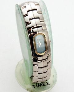 【送料無料】timex t53401 9j womens stainless steel bracelet analogue quartz watch