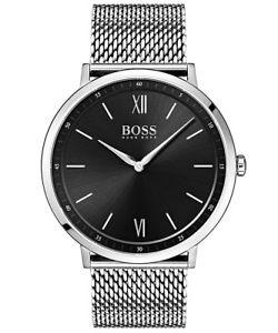 【送料無料】boss herrenuhr essential 1513660