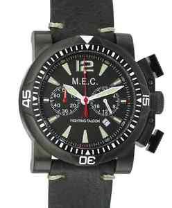 【送料無料】orologio uomo vintage cronografo quarzo acciaio militare subacqueo mec nuovo