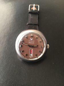 【送料無料】neues angebotwittnauer watch wristwatch automatic solid stainless steel