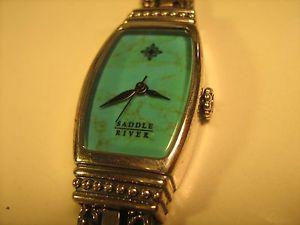 【送料無料】*working* womens wristwatch saddle river quartz analog [h5c3]
