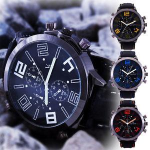 【送料無料】orologio da polso uomo sport v6 caucci cassa acciaio misura grande watch