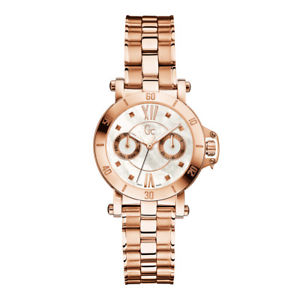 【送料無料】gc womens rose goldtone steel bracelet amp; case quartz analog watch x74008l1s