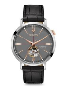 bulova mens classic automatic watch 98a187 brand