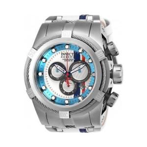 invicta mens reserve quartz chronograph stainless steel watch 26469